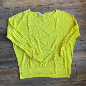 {preloved} Bright Yellow Vince Sweater